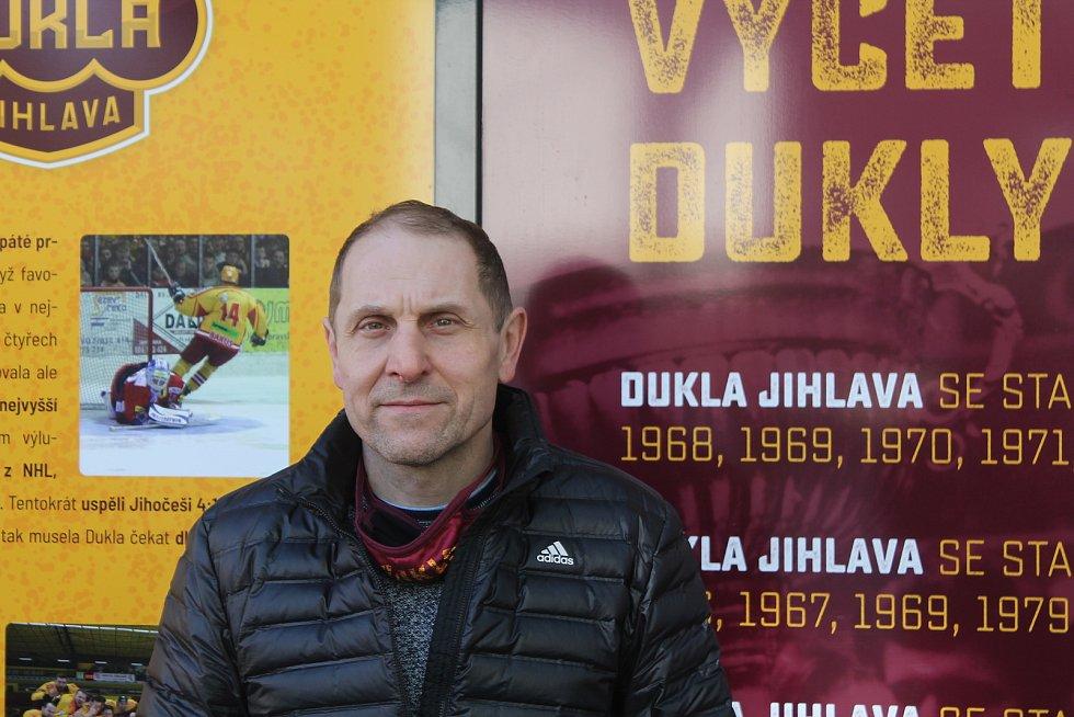 Jednatel HC Dukla Jihlava Bedřich Ščerban.