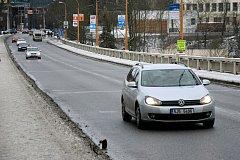 Brněnský most v Jihlavě.