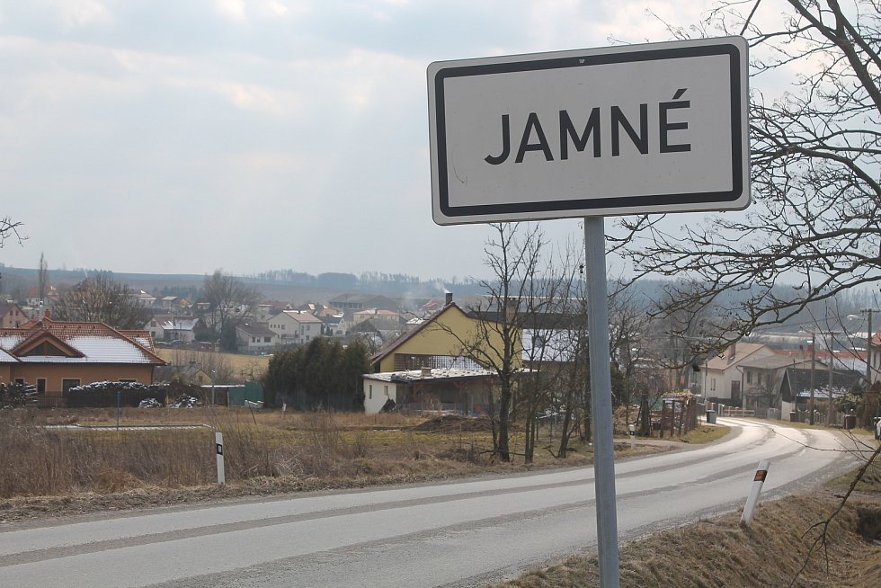 Malebná obec Jamné