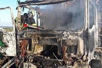 Požár u Markvartic.