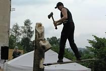 Královská disciplina dřevorubeckého sportu. Martin Komárek je s ní hotov.