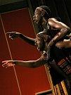 Tanec plný temperamentu předvedla návštěvníkům kina v Pacově na Pelhřimovsku taneční skupina Iyasa ze Zimbabwe.
