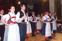 Horácký soubor písní a tanců Vysočan. Ilustrační foto.