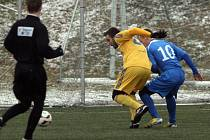 Po pěti výhrách hráči Vysočiny poprvé padli. V semifinále Tipsport ligy nestačili na ostravský Baník.