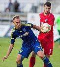 Utkání 6. kola Fortuna národní ligy mezi FC Vysočina Jihlava a FK Vítkovice.