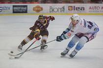 Šestý finálový zápas ovládli hosté z Kladna v poměru 3:1.