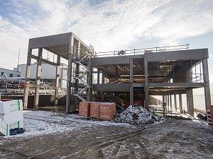 Výstavba obchodního domu a střediska záchranářů