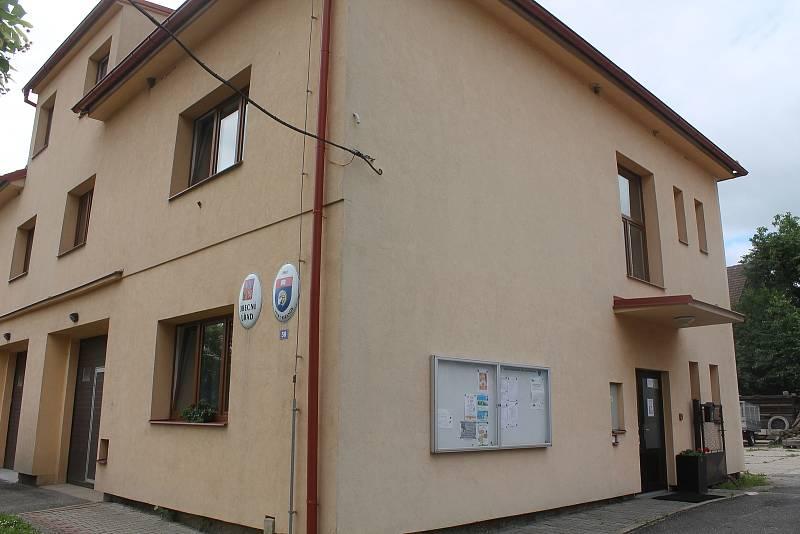 Budova obecního úřadu ve Velkém Beranově.
