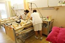 Takto vypadá prostředí Stanice paliativní péče v jihlavské nemocnici.