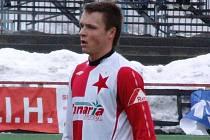 Stanislav Tecl si ve svém premiérovém utkání za sešívané oblékl dres Vladimíra Šmicera