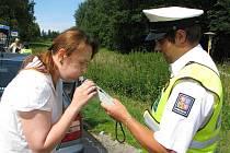 Na Hosově ve středu řidiče kontrolovali policisté. Ti rozdali pouze pokuty za rychlost.