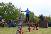 V sobotu 11. května se mrákotínští hasiči zúčastnili okrskové soutěže v Krahulčí.