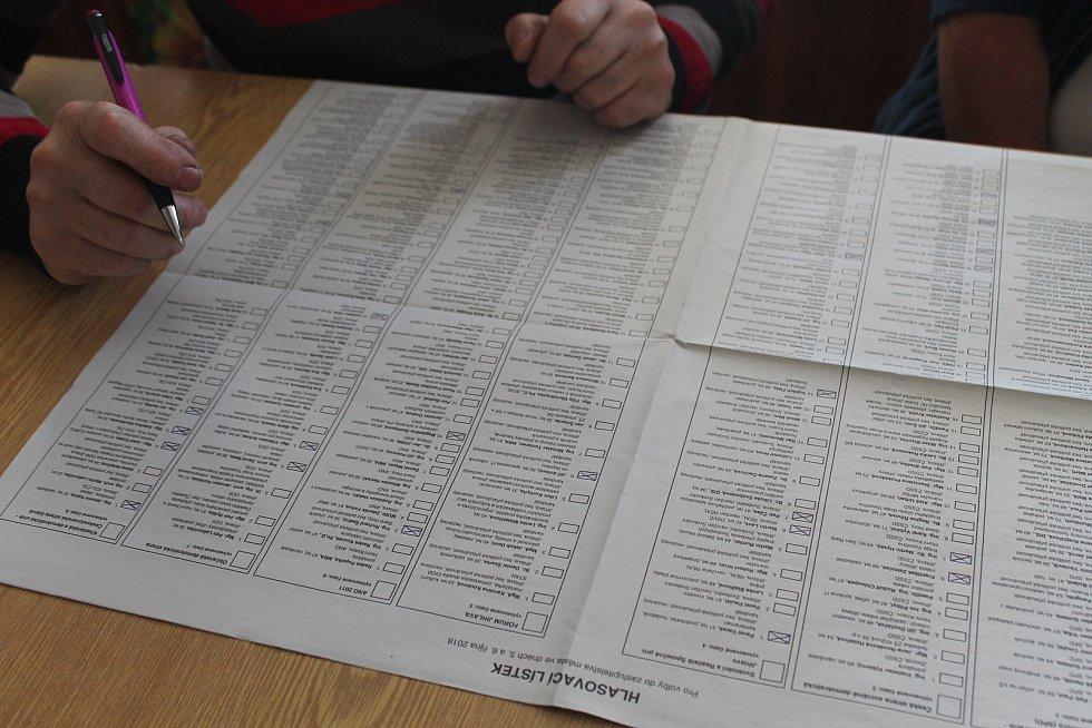 Volební archy pro Jihlavu skýtaly dostatečnou možnost výběru.