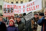 Čtvrteční demonstrace proti cenám elektrické energie