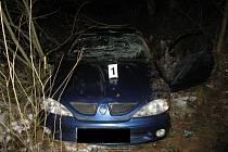 Čtvrteční nehoda na katastru Vílance na hlavní silnici mezi Jihlavou a Znojmem