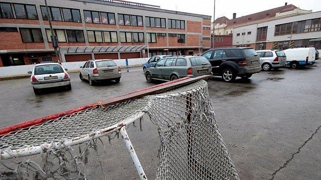Horácký zimní stadion.