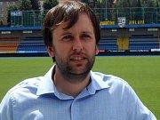 Nový výkonný ředitel jihlavských fotbalistů Jan Staněk.