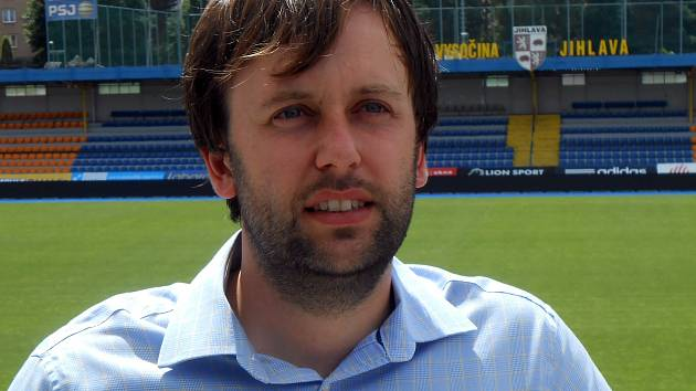Ředitel FC Vysočina Jan Staněk.