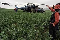 Podle svědků byli vojáci rádi, že se jim podařilo dosednout. Událost vzbudila pozornost obyvatel okolních vesnic. Vrtulník s označením Mi–24 používá kromě České republiky ve světě dalších 48 států.