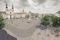 Takto by mělo náměstí vypadat podle architektů z MCA ateliéru.