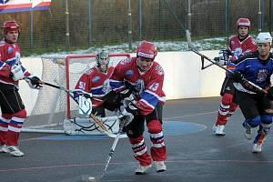 Jihlavští hokejbalisté se přes zimní pauzu nerozladil, a na vítězné vlně se vezou nadále. Na hřišti Heřmanova Městce slavila, tým SK Toptrans výhru 5:2.