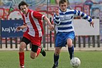 Fotbalisté Bedřichova (vlevo) i Hrotovic loni patřili k lepším týmům B skupiny I. B třídy. Dá se očekávat, že se stejnými ambicemi vstoupí i do nové sezony.