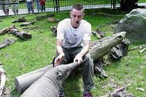 Každý všední den se mohou návštěvníci jihlavské zoo dovědět, co která zvířata žerou.