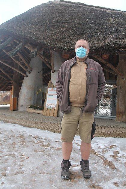Ředitel Zoo Jihlava Jan Vašák.