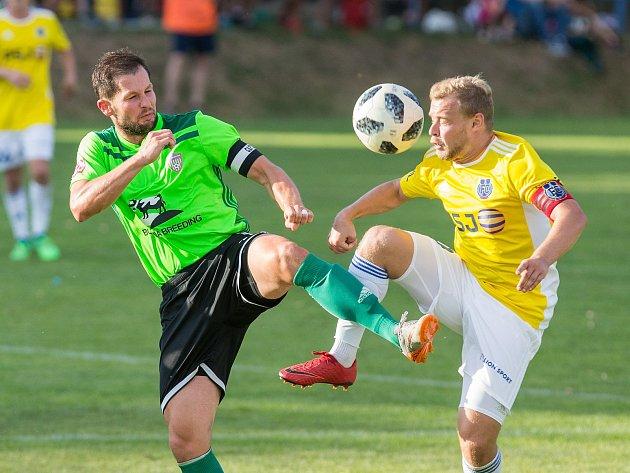 OBRAZEM: Krajské pohárové derby ovládli Jihlavané
