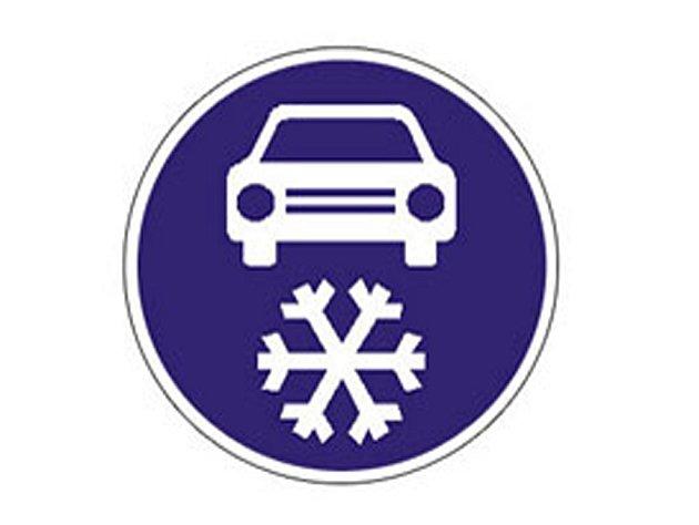Zimní výbava - značka
