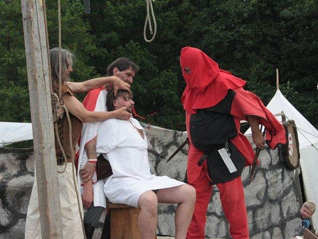 V Malém se odehrála středověká bitva