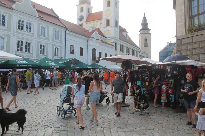 Do Telče zavítaly davy návštěvníků.