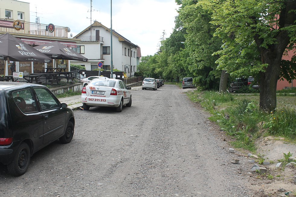 Ulice Jiřího z Poděbrad.