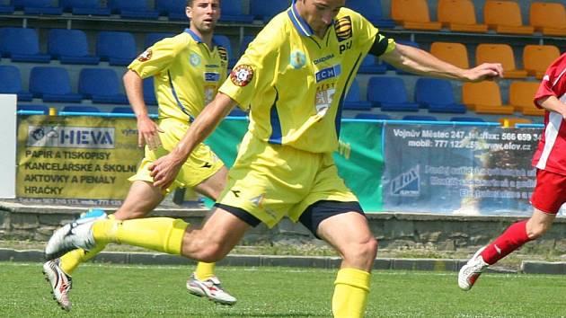 Už šest týdnů si Štěpán Wasserbauer nekopl kvůli únavové zlomenině zánártní kůstky do míče.