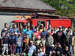 Během jarního soustředění polenští hasiči nejen trénují, ale zůstane jim čas i na relaxaci a v případě mladých členů i na zábavu.