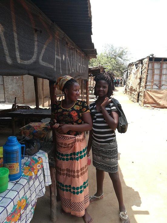 Na tržnici v Mozambiku.