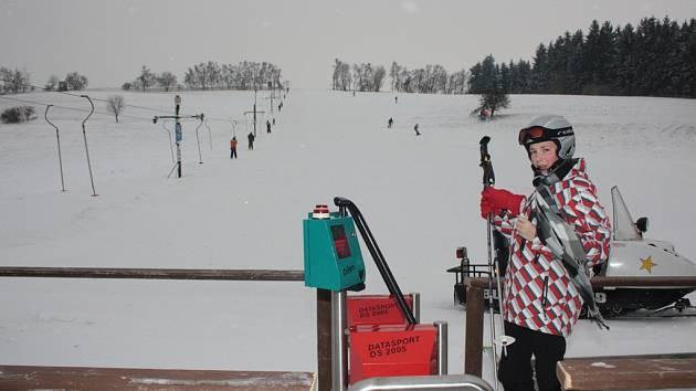 Sjezdovka v Brtnici, ilustrační foto