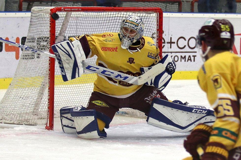Maksim Žukov předvedl v obou zápasech na Kladně skvělý výkon.