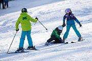 Lyžování ve Ski areálu Šacberk.