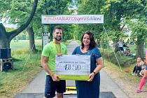 Při půlmaratonu se podařilo vybrat více než 160 tisíc korun.