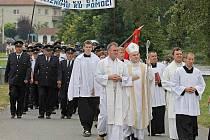 Nový zvon v kapli vysvětil v sobotu brněnský biskup Vojtěch Cikrle v Radkově na Žďársku.