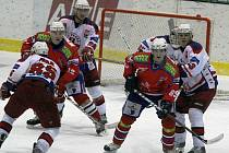 V dnešním derby se utká Havlíčkův Brod s hokejisty Třebíče. Především borci z Kotliny potřebují sbírat body jako sůl. Stále totiž nemají jistotu účasti v play off. Na třináctý Beroun má náskok pouhých pěti bodů.