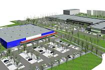 Upravenou podobu obchodního centra už investor představil lidem. Nelíbila se.