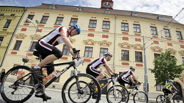 Jihlavský čtyřiadvacetihodinový bikerský maraton. Ilustrační foto.