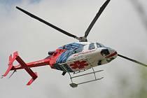 Nyní provozuje záchranářské vrtulníky na Vysočině brněnská firma Alfa-Helicopter, jejíž piloti létají z Jihlavy od roku 1993. Od roku 2003 přepravuje pacienty stroj Bell 427.