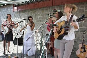 Bluegrassový festival v Lukách nad Jihlavou. Ilustrační foto.