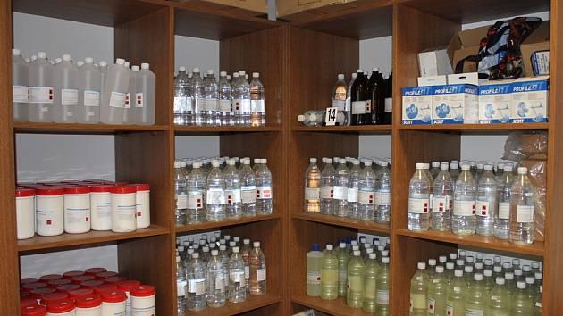 Pro léky potřebné k výrobě pervitinu vyrazil Radek Chlebníček z Jihlavy do Polska. Ilustrační foto.