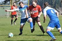 Výhru 2:1 nad Chotěboří slavili na svém hřišti fotbalisté Sapeli Polná.