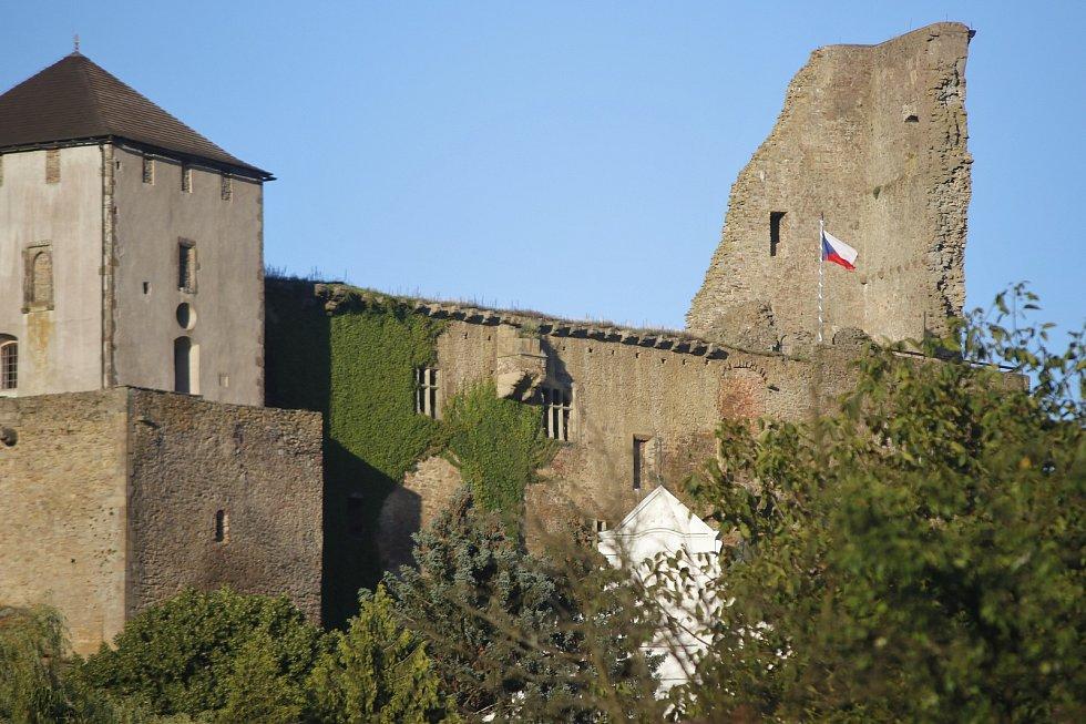 Hrad v Lipnici nad Sázavou.