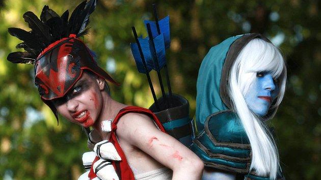 Saša Blažková z Jihlavy má netradiční koníček. Věnuje se cosplay.